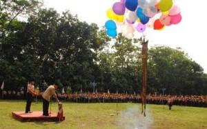Pelepasan balon jambore